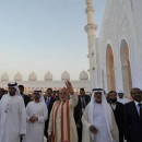 On the occasion of PM's visit, UAE Govt decides to allot land for building a temple in Abu Dhabi
