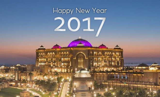 Abu Dhabi - Happy New Year 2017